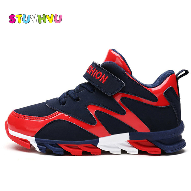 Boys boots warm cottons 2019 kids winter shoes for girl thickening velvet boys sports shoes waterproof leather sneakers boots