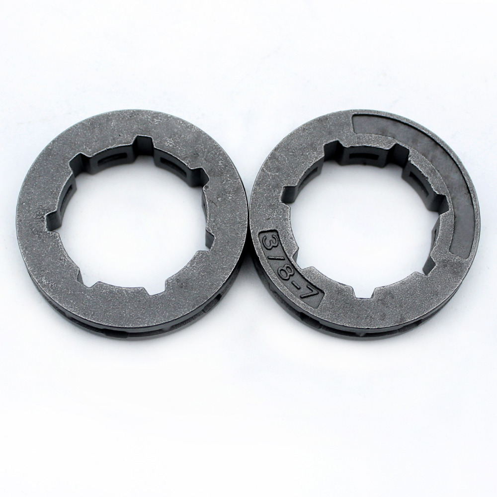 цена на 2XRim Sprocket 3/8 7 Tooth For STIHL MS440 MS460 MS660 HUSQAVRNA 266 268 272 362 365 371 372 395 3120 Chainsaw Replacment Parts
