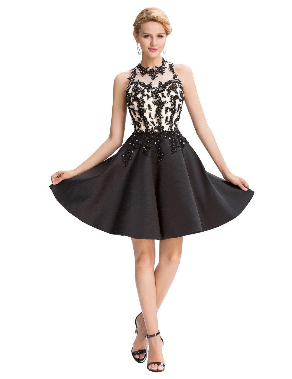 prinzessin mädchen schwarz kurz brautkleider 2017 ballkleid besondere  anlässe kleid hochzeit schnelle lieferung abendkleider