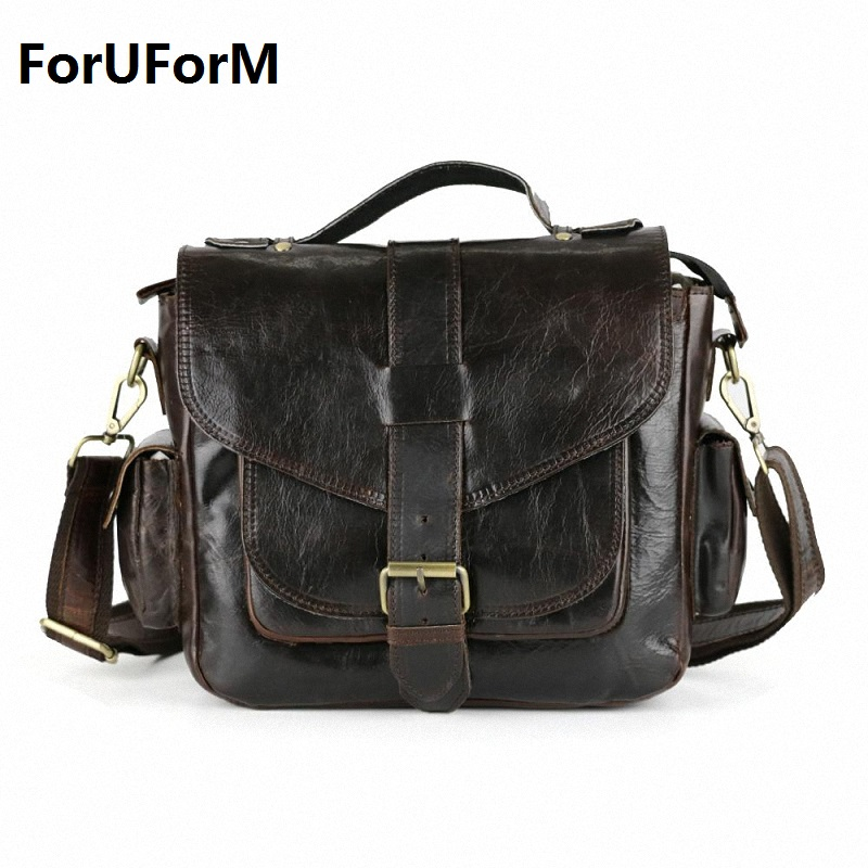 Hot selling Men bag 100% Genuine Leather bags men Messenger Bags crossbody Shoulder men's travel bag new Free Shipping LI-863 unisex retro new 2015 canvas leather women messenger bags men crossbody bag shoulder bag duffel bags weekend free shipping
