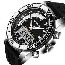 Digital Dual Display Watches Sport Fashion Chronograph Date Week Quartz Wristwatches Rubber Band Women Watches reloj mujer