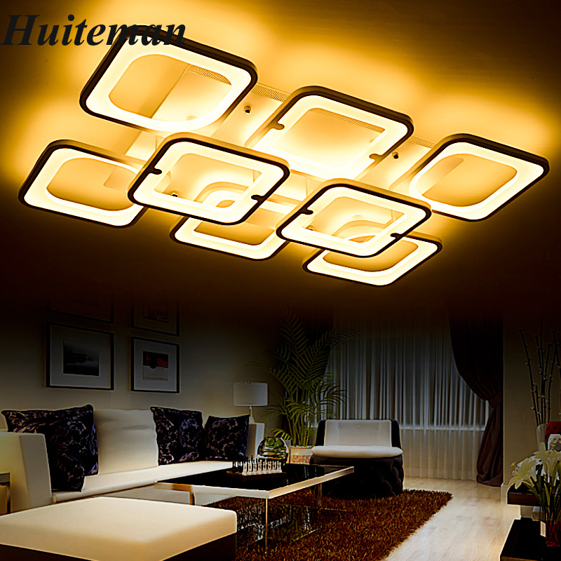 Modern Led Ceiling Chandelier Lamp Lampara de techo with remote control Chandeliers Lights For Living Room Bedroom Home Fixtures 110v 220v ceiling light led bedroom living room lustre de plafond modern led ceiling lamp luminaire plafonnier lampara de techo