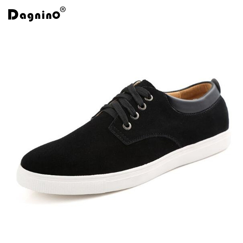 2019 New Men Casual Shoes Fashion Comfortable Driving Breathable Lightweight   Leather   Walking Shoes Male Sneakers Big Size 38-49