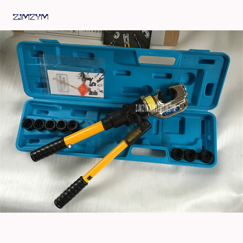 EP-431 Manual Cable Hydraulic Hexagon Crimping Tool wire Crimping Plier Hydraulic Compression Tool Pliers Crimp range 16-400mm2 hot sale f1 f2 f3 f4 f5 f6 f7 hydraulic cable cutter tool hydraulic crimping tool