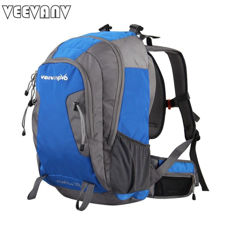 2018 VEEVANV Brands Men's Backpacks Waterproof Backpacks Nylon Shoulder Bag Multifunctional Casual Large Men Travel Backpacks рюкзаки zipit рюкзак shell backpacks