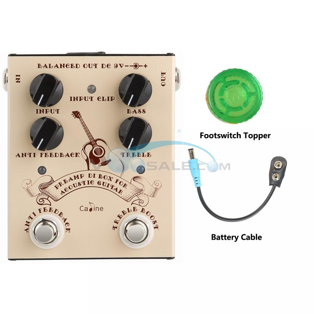 NEW Caline CP 40 DI Box For Acoustic Guitar Effect Pedal Guitar Accessories Pedal Effect Box