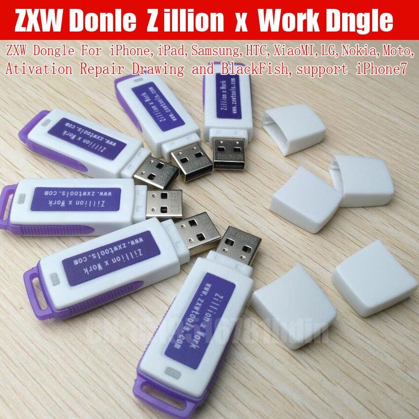 2018 Originale ZXW Dongle ZXWTEAM ZXWSOFT disegni DOGNLE con il software di riparazione Per Iphone Nokia Samsung HTC e così libera la nave