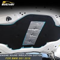 Gelinsi For 2018 BMW X3 G01 Car Engine sound insulation cotton special accessories