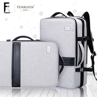 FRN Multifunction Backpack Male 17 Inch Laptop Bag For School Large Capacity Business Trip Mochila Tripple
