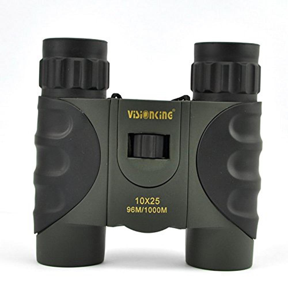 Visionking 10x25 Roof Binoculars Outdoor Hunting Camping Travelling Binoculars Waterproof Professional Telescope Monoculars