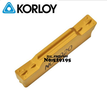Korloy Original MGMN800-M NC3020 NC3030 MGMN800 MGMN 800 Carbide Inserts Lathe Cutter Tools Turning Tool Parting Off Grooving
