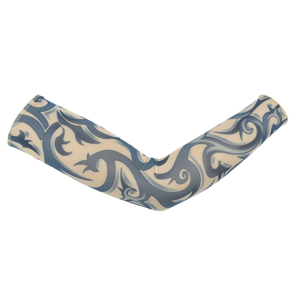 Fake Tattoo Sleeves Arm Stockings Halloween Tattoo Soft For Men Women Tatoo Hand Sleeve Arm Cuff Cover 1 Pair