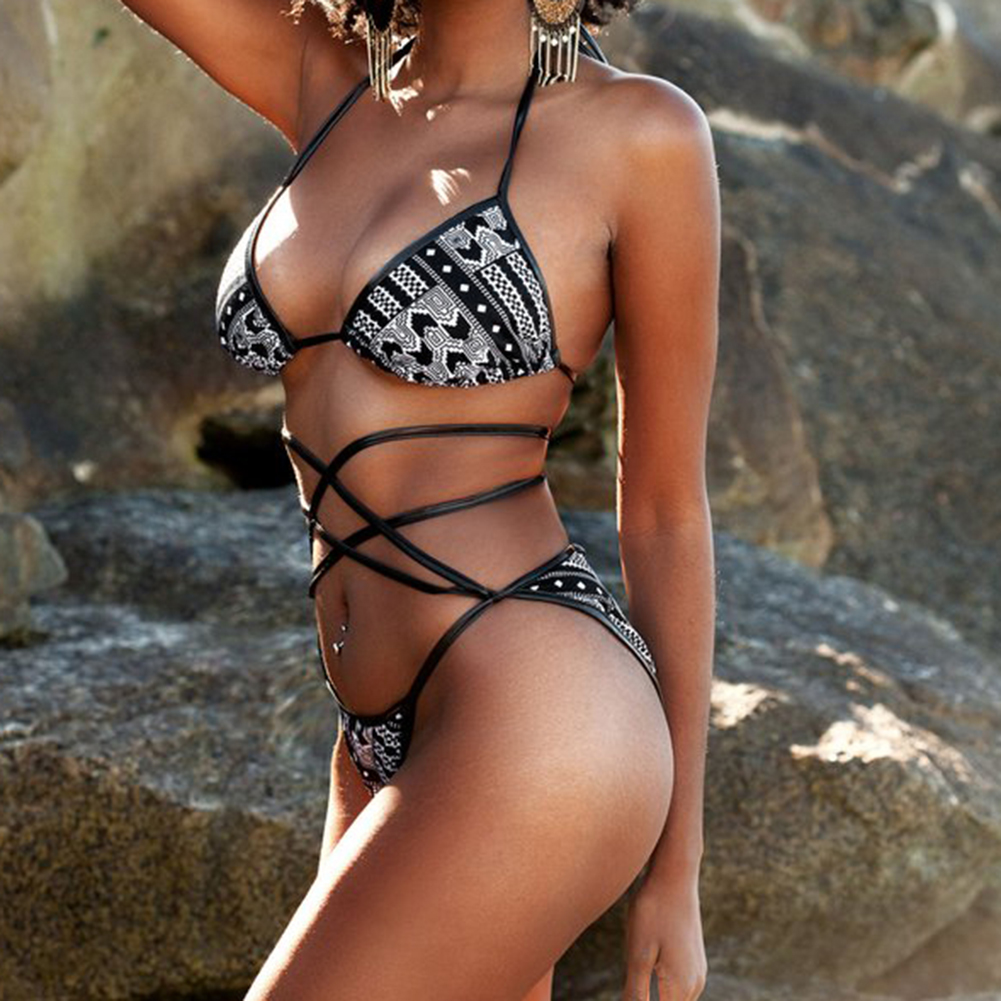2017 Sexy Cross Brazilian Bikinis Women Swimwear Two Piece Swimsuit Push Up Bikini Set Halter Top Beach Bathing Suits Swim Wear swimwear women cheap sexy bathing suits may beach girls bikinis one piece 2017 swim suit bodyswim trikinis woman push cover up