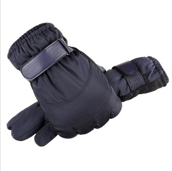 New Fashion Touch Screen Waterproof Men's Warm Gloves for Men 2019 Winter Male Outdoor Motor cycle Skii Gloves Windproof Guantes image