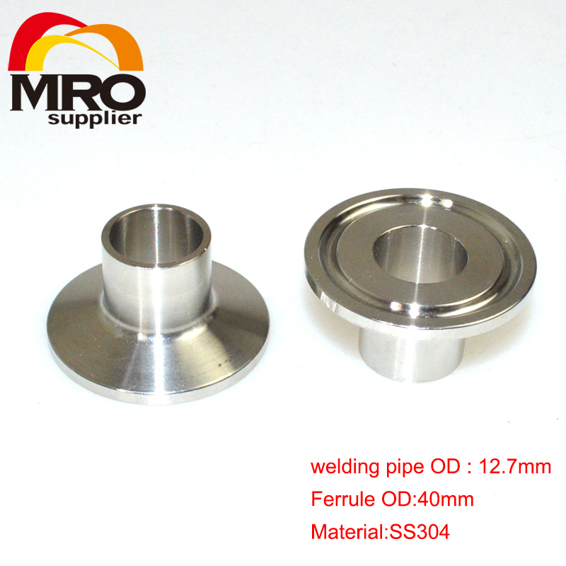 High quality mm od sanitary weld on ferrule tri