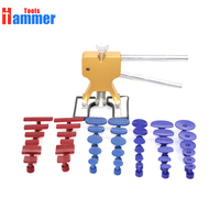 PDR KING dent lifter paintless dent repair with 40 glue tabs Hammer PDR KING Tools good tools for car dent repair