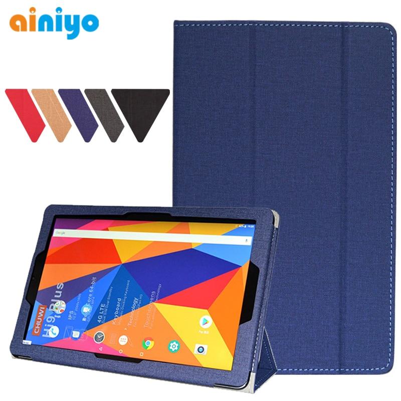 עבור CHUWI hipad מקרה באיכות גבוהה Stand עור מפוצל כיסוי לchuwi hipad היי pad Tablet PC מגן מקרה + 3 מתנות