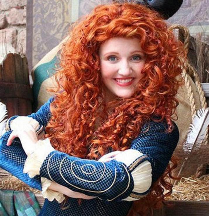 Women Fluffy Hair - New Style Fashion Curly Hair Sexy Women Curly Brown Popular Hair 3SH042