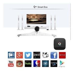 Image 4 - 6K 스마트 TV 박스 안드로이드 9.0 4GB RAM 64GB ROM Allwinner H6 QuadCore USB3.0 2.4G Wifi Youtube Q Plus TVBox 미디어 플레이어 2G16G