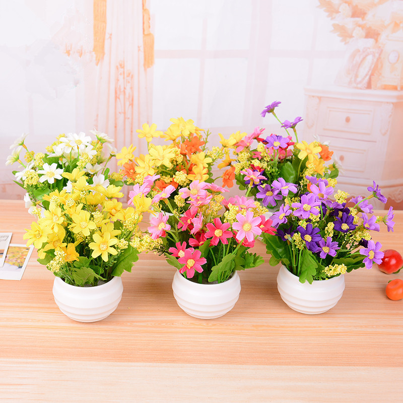 2017 New Home Decor Simulation Mini Bonsai Potted Artificial Rhaliexpress: Artificial Flowers For Home Decor Indoor At Home Improvement Advice