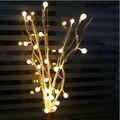Luzes De Fadas LIDERADA 25 Bolas de Cereja Árvore de Natal Luzes LED Luces Navidad Decoração De Casamento Luzes Decorativas Luzes de Para Festa