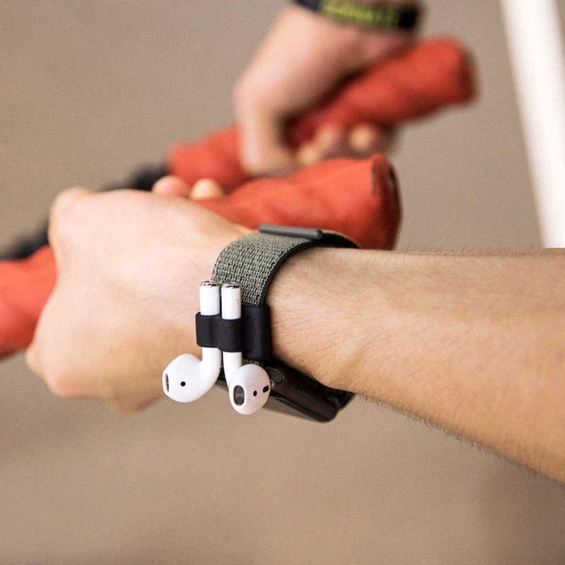 """Функция """"антипотеря силиконовый держатель чехол для наушников для воздуха держатель Портативный анти-потерянный ремешок силиконовый чехол для Apple Airpods аксессуары"""