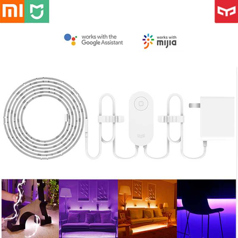 Xiaomi Yeelight Smart Light Strip LED Light Band Extendable Up To 10m WiFi APP Remote Control Extension Strip for Smart Home