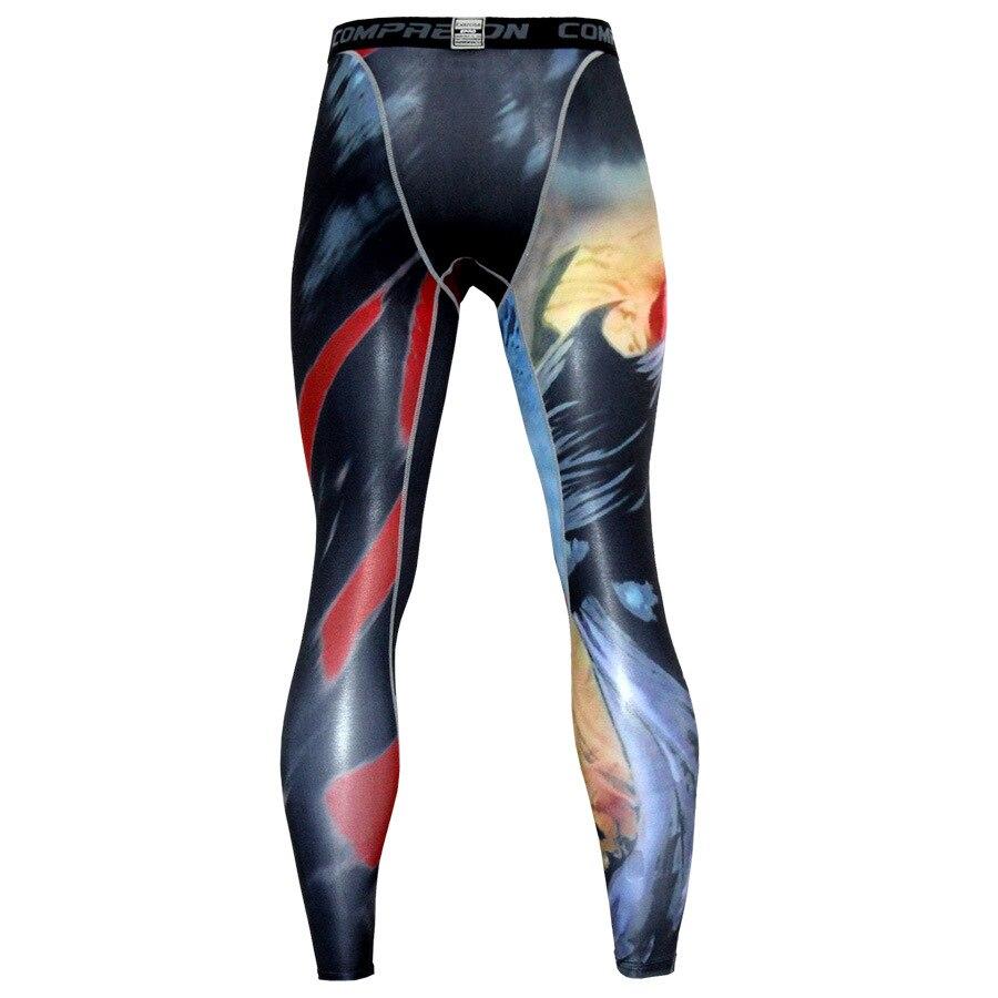 Strumpfhosen Men Compression Sporthose Laufhose Dry Fit Basisschicht Jogger Fitness Gym Mma Tragen Bodybuilding Hosen Dünne Gamaschen