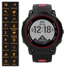 Uwear المهنية IP68 الرياضة ووتش UW90C الفولاذ المقاوم للصدأ ساعة Bluetooth ذكية 4.2 GPS القلب معدل تشغيل المشي السباحة.