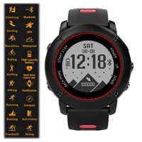 Uwear Professional IP68 Sport Watch UW90 Stainless Steel Smart Watch Bluetooth 4.2 GPS Heart Rate Running Hiking Swimming.