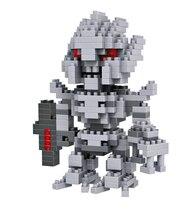 LOZ 9403 Transformation OptimusPrime Diamond Bricks Minifigures Building Block Best Toys Compatible with Legoe
