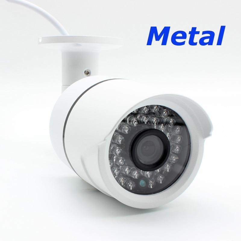Metalu na zewnątrz HD 2MP XMEye Sony IMX307 Starlight CCTV IP kamera POE czarne światło 0.0001Lux sieci bezpieczeństwa H.265 + w Kamery nadzoru od Bezpieczeństwo i ochrona na