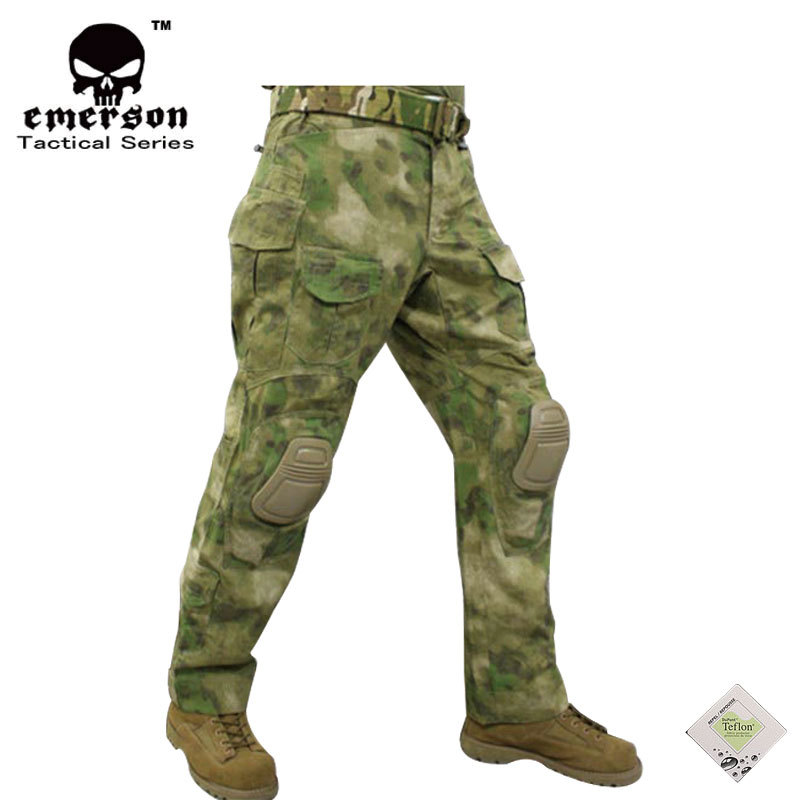 EMERSONGEAR G3 Combat Pants/ ATACS-FG Combat Pants Emerson BDU Army Airsoft Tactical Gear Trousers EM7030 1set glass