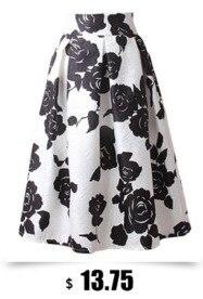 b88cb54b3 AKITSUMA Fashion A Line Striped Skirts Womens Casual Pleated Midi ...