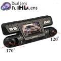B80 Car DVR Camera Dual Lens Novatek 96655 Dashcam WDR FHD 1080P 170+120 Degree Angle Outside+inside Recording Video Recorder