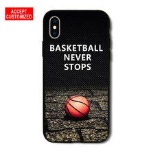 official photos adbb4 a8b46 Buy basketball never stops iphone case and get free shipping on ...
