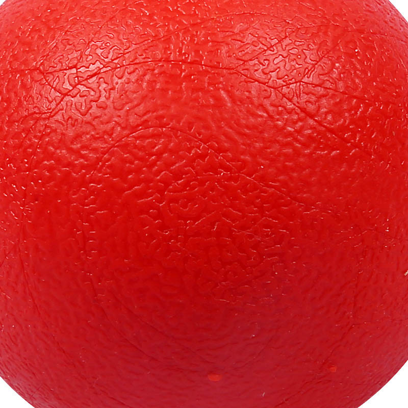 Puzzle Rubber Chew Game Training Pet Dog Toy Red Solid Elastic Pet Ball Toys XHC88