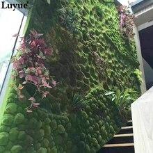 Size 100CM*100CM Grass plant moss Moss Artificial Lawn Garden Grass Plant wall green garden stair decoration