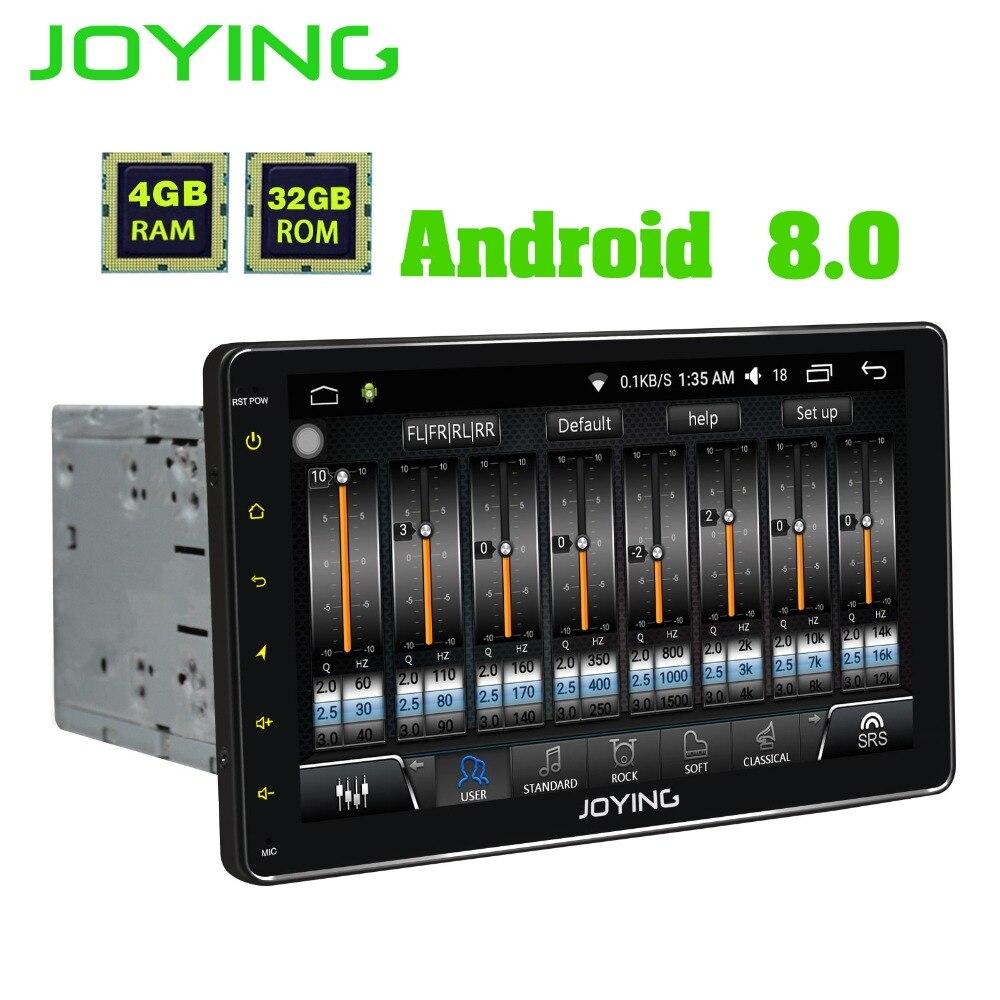 9 JOYING Double 2 Din Tête Unité de Bande Enregistreur Universel Android Voiture Radio Stéréo Audio GPS Navigation avec Numérique amplificateur