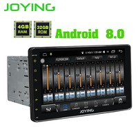 9 JOYING Double 2 Din Head Unit Tape Recorder Universal Android 8 0 Car Radio Stereo