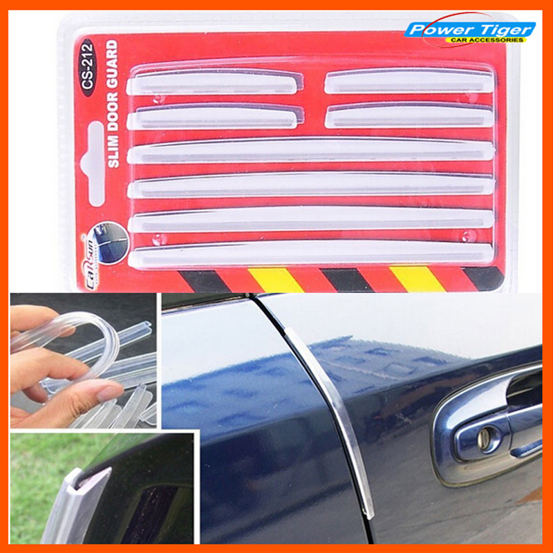 Air Freshener Automobiles & Motorcycles Edfy 8pcs Car Door Edge Guards Trim Molding Protection Strip Scratch Protector White Less Expensive