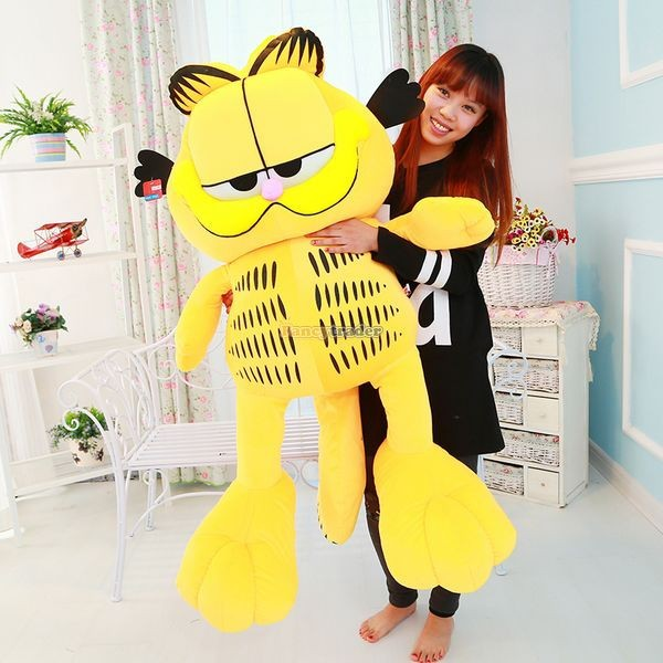 Fancytrader 49\'\' 125cm Super Funny Big Stuffed Soft Plush Lovely Giant Garfield Cat, Free Shipping FT50713 (1)