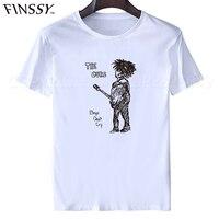 2016 New The Cure T Shirts Men Casual Men Robert Smith T Shirts Short Sleeve Fashion