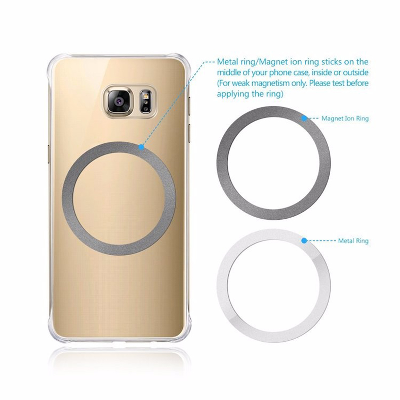 360 Degree Rotation QI Standard Phone Car Magnetic Wireless Charger Air Vent Holder For Samsung Galaxy S8 S8 Plus S7 Edge S7 (9)