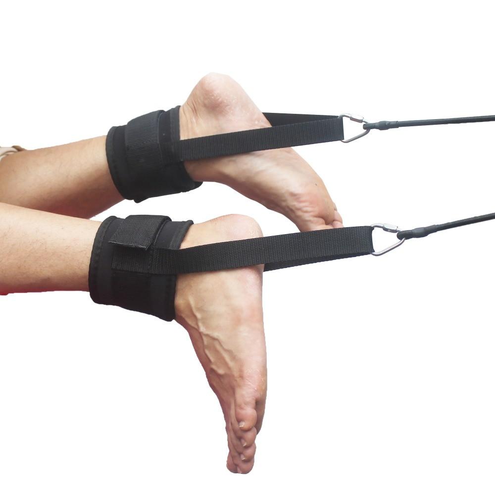 Swim Ankle Strap Stationary Swimmer Swim Lap Swim Training Leash - NEW STYLE Instruction Included! ...