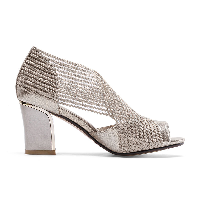 A-BUYBEA New Fashion Gladiator Women Sandals Slip-on Peep Toe High Heel Women Summer Shoes Square Heels Ladies Party Shoes