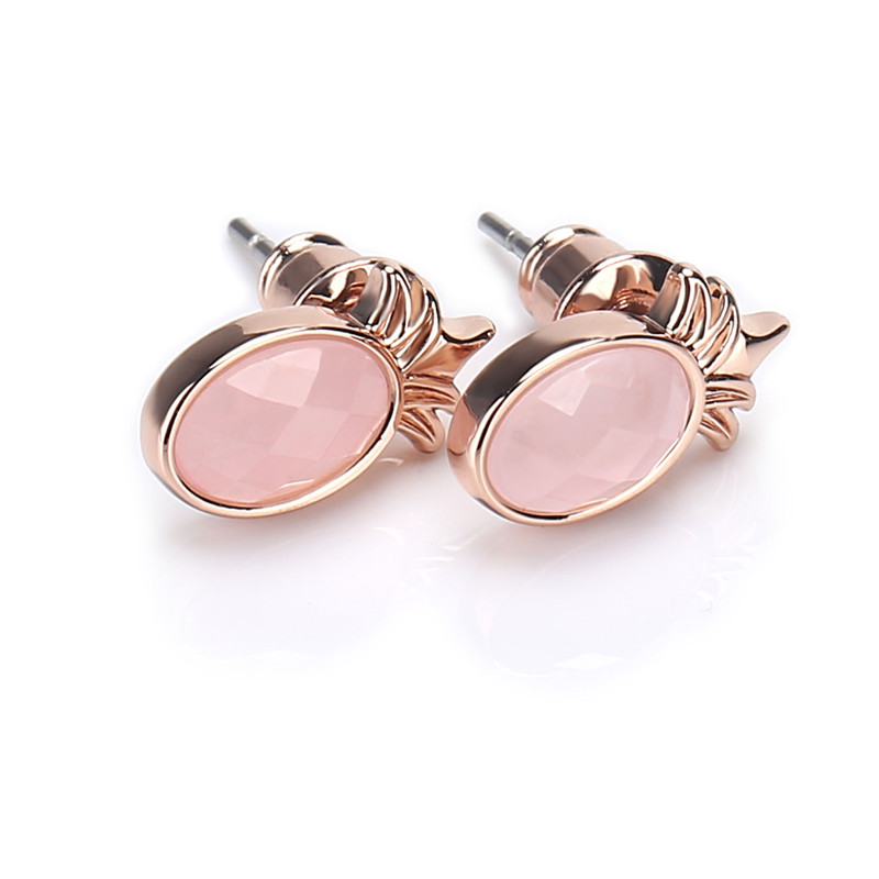 2019 Womens Fashion Plated Earrings Cute Fruit Stud Jewelry for Ladies  Pineapple