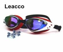 Men Women myopia Electroplate Waterproof Swim Glasses diopter swim eyewear silicone Anti Fog UV Protection Swimming Goggles
