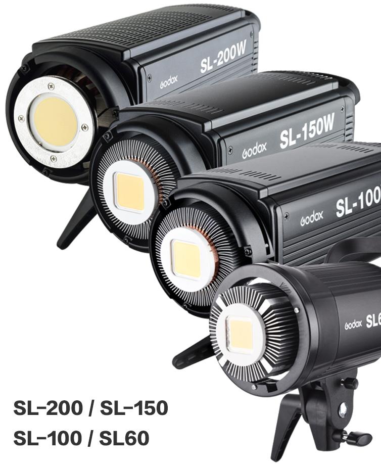 Godox SL-100 2400LUX Studio LED Continuous Video Light Bowens Mount (13)