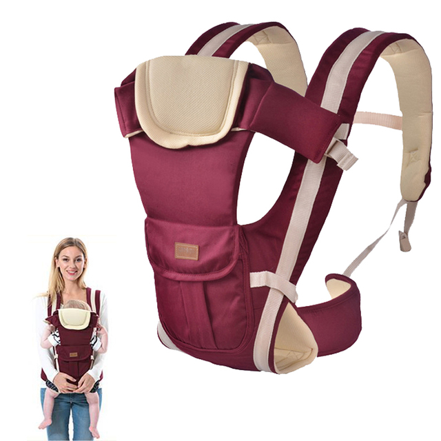 b3692aae817 2-30 Months Baby Carrier Multifunctional Front Facing Baby Carrier Infant  Bebe High Quality Sling Backpack Pouch Wrap Kangaroo
